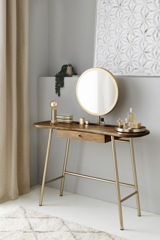 Rhea Dressing Table With Mirror
