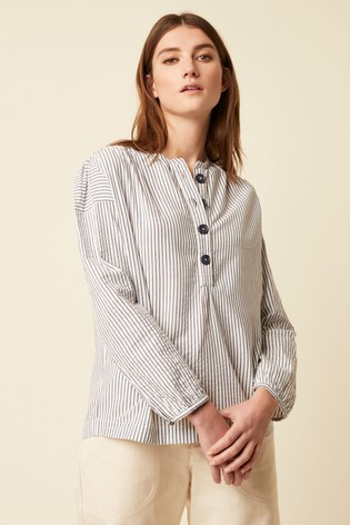 Great Plains Blue Nala Stripe Shirt