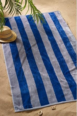 Striped Beach Towel