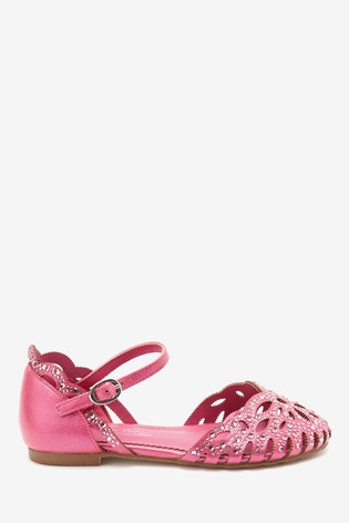 Pink Heatseal Scalloped Shoes (Older)