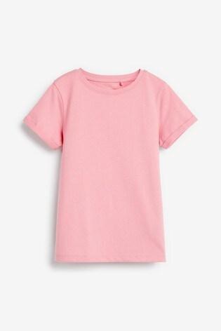 Pink Pure Organic Cotton Regular Fit T-Shirt (3-16yrs)