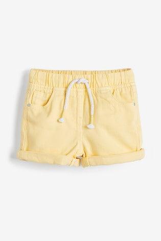 Lemon Pull-On Shorts (3mths-7yrs)