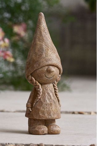Mrs Gnome Garden Ornament