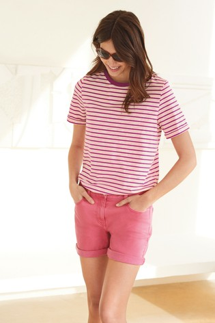 Bright Pink Boy Shorts
