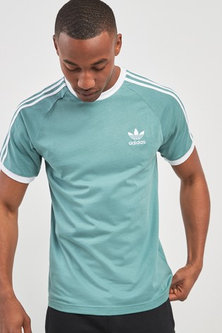 6989fff9 Buy adidas Originals 3 Stripe California T-Shirt from the Next UK ...
