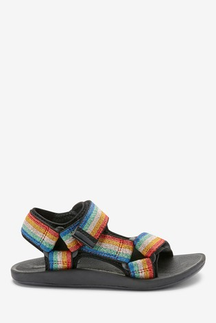 Rainbow Tape Trekker Sandals (Older)