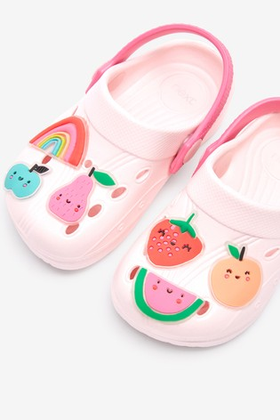 Pink Fruit Clogs (Younger)