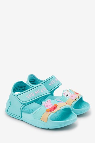 Aqua Peppa Pig™ Pool Sliders (Younger)