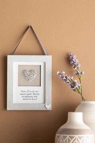 Framed Heart Hanging Decoration