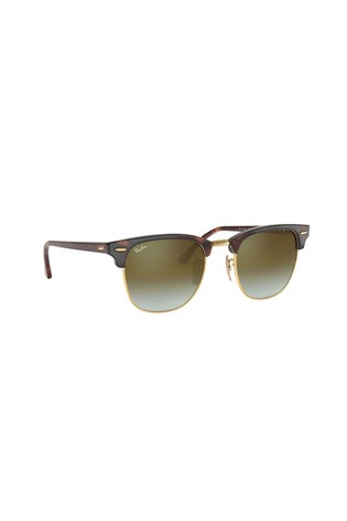 Ray-Ban® Brown Clubmaster Sunglasses