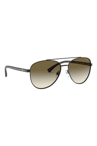 Emporio Armani Black Gradient Sunglasses