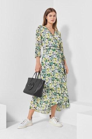 Next/Mix Floral Print Wrap Dress