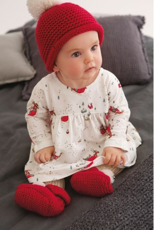 Comprar Red Knitted Hat (0 meses-2 años) de Next España 09127e9b8b8