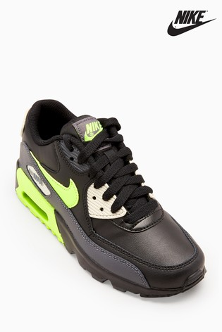 online store cfd5d 4dd56 Buy Nike Black/Volt Air Max 90 from Next Ireland