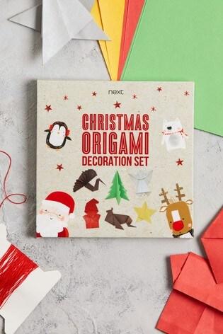 Christmas Themed Origami Set