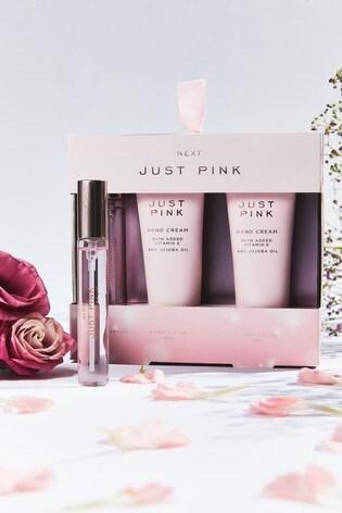 Just Pink Hand Bag Essentials Gift Set