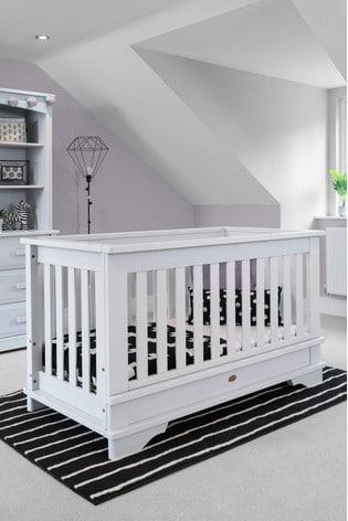 Boori Eton Convertible Plus White Cot Bed