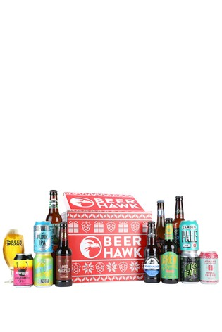 Beer Hawk Festive Craft Beer Crate