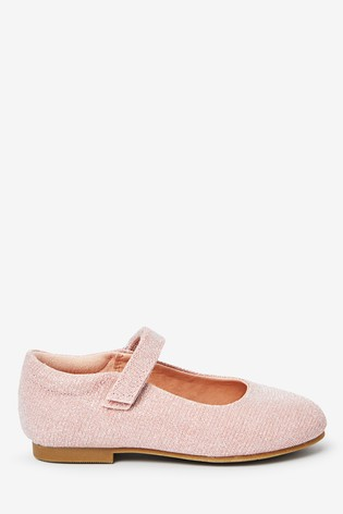 Pink Glitter Mary Jane Shoes