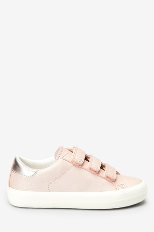 Pink Touch Fastening Trainers (Older)