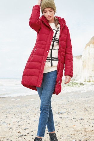 Red Padded Coat