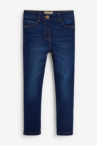 Dark Blue Slim Fit Skinny Jeans (3-16yrs)