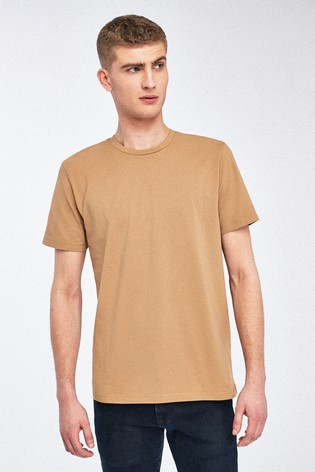 Stone Regular Fit Crew Neck T-Shirt