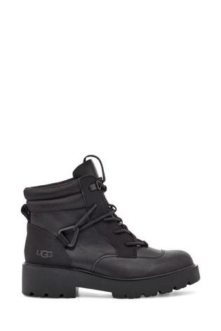 UGG® Black Tioga Hiker Heavy Duty Boots