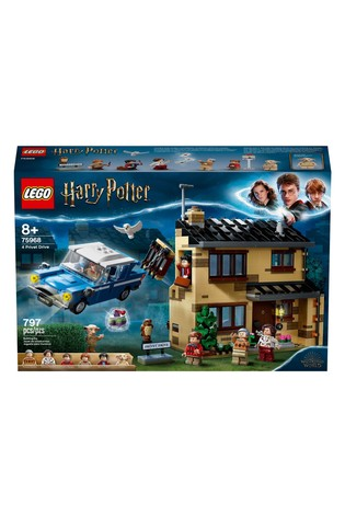 LEGO 75968 Harry Potter 4 Privet Drive House Set