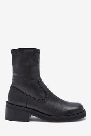 E8 Black Oliana Boots