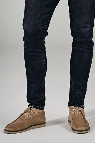 Stone Suede Wallabee Boots