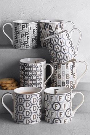 Glam Alphabet Mug