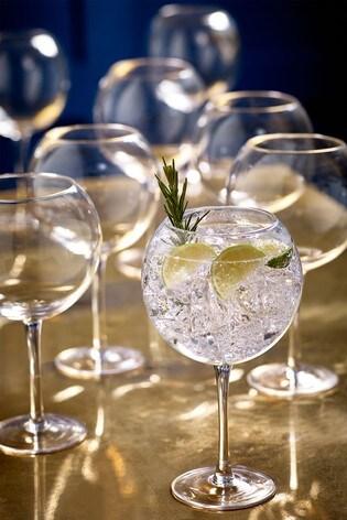 Set of 8 Gin Glasses