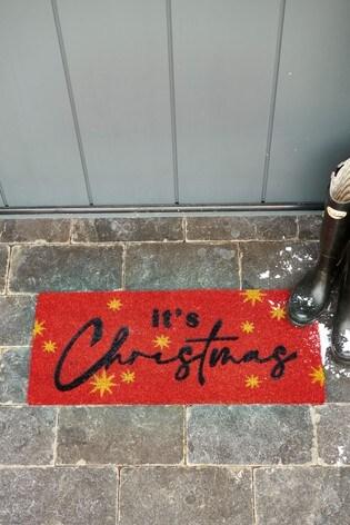 It's Christmas Doormat