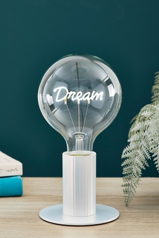 Dream Bulb Iridescent Table Lamp