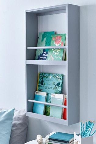 Grey Display Bookcase
