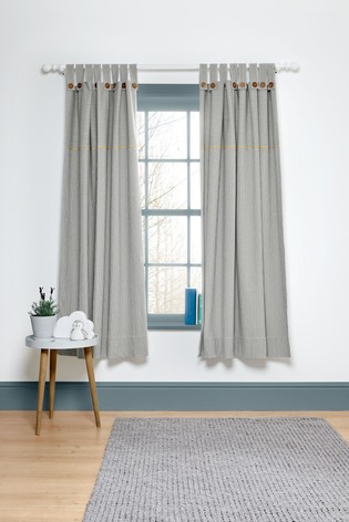 Mamas & Papas Welcome to the World Tab Top Farm Curtains