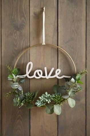 Love Eucalyptus Wreath