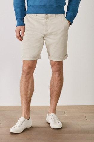 Bone Chino Mr Blue Sky Organic Cotton Shorts