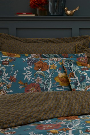 Set of 2 Bloom Floral Oxford Pillowcases by Riva Home