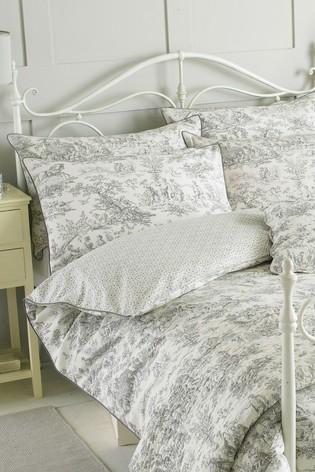 Riva Home Grey Canterbury Tales Pillowcase
