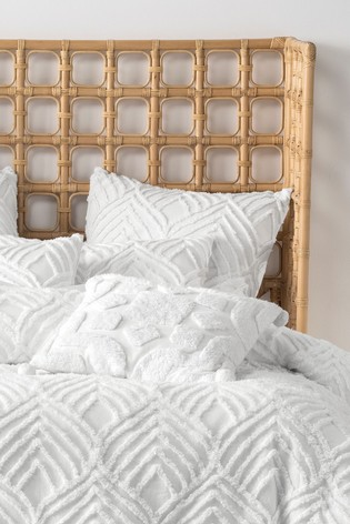 Palm Springs Textured Cushion by Linen House
