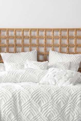 Set of 2 Palm Springs Textured Pillowcases by Linen House
