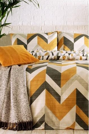 Riva Home Charcoal Reno Duvet Cover and Pillowcase Set