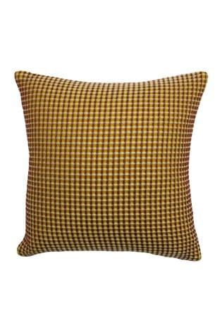 Furn Brown Rowan Two Tone Waffle Cushion