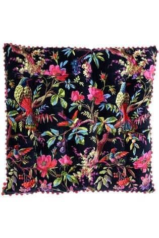 Riva Paoletti Black Paradise Cushion