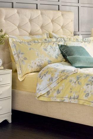 Set of 2 Laura Ashley Apple Blossom Oxford Pillowcases