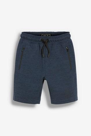 Navy Sporty Shorts (3-16yrs)