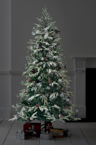 Luxe Frosted Fir Christmas Tree by Next