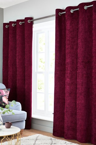 Heavyweight Chenille Curtains by Next